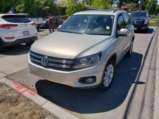Used 2012 Volkswagen Tiguan Trendline for sale in Scarborough, ON