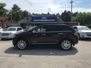 Used 2011 Lincoln MKX AWD for sale in Flesherton, ON