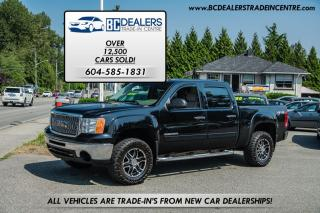Used 2011 GMC Sierra 1500 SLE, 5.3L 4x4, Crew Cab, Aftermarket Wheels, CLEAN for sale in Surrey, BC