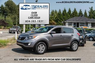 Used 2012 Kia Sportage All-Wheel Drive LX, New Bodystyle, Bluetooth! for sale in Surrey, BC