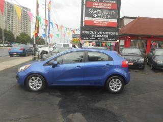 Used 2013 Kia Rio LX+/ CLEAN / UBER READY / AC / BLUETOOTH/ for sale in Scarborough, ON
