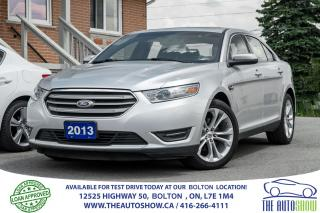 Used 2013 Ford Taurus SEL AWD NAVI GPS REAR CAM ACCIDEN FREE CERTIFIED for sale in Bolton, ON