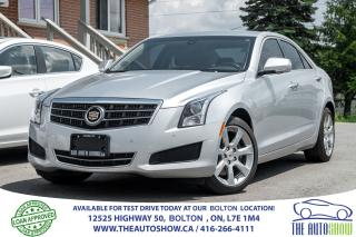 Used 2014 Cadillac ATS AWD LUXURY REARCAM NO ACCIDENTS WARRANTY CERTIFIED for sale in Caledon, ON