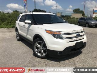 Used 2013 Ford Explorer Limited | NAV | LEATHER | ROOF | CAM | 4X4 for sale in London, ON