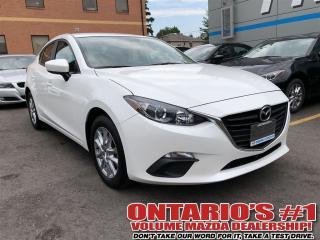Used 2016 Mazda MAZDA3 GS SKAY,NAV,BACKUP CAM/ 1.99%,C.P.O!!!-TORONTO for sale in North York, ON