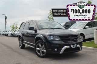 Used 2017 Dodge Journey Crossroad - premium alpine audio, 7 passenger, gps for sale in London, ON