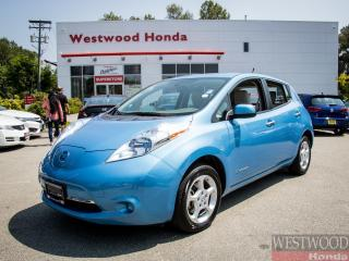 Used 2013 Nissan Leaf SV , Zero Emissions for sale in Port Moody, BC
