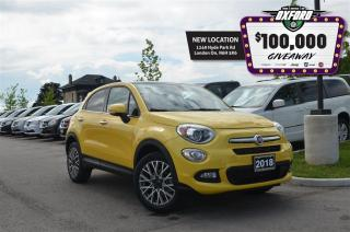 Used 2018 Fiat 500X Lounge - sunroof, bluetooth, AWD for sale in London, ON
