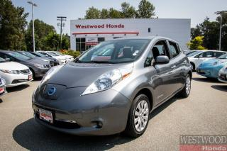Used 2015 Nissan Leaf S, Zero Emissions - Below-Market Pricing for sale in Port Moody, BC
