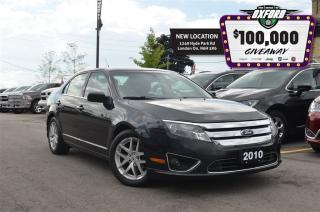 Used 2010 Ford Fusion SEL 2.5L I4, Auto Climate, Bluetooth, Pwr Seat for sale in London, ON