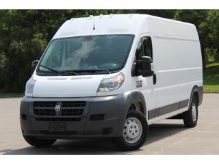 Used 2017 RAM 2500 ProMaster High Roof* 149 WB*12' Cargo Floor*SUPER CLEAN for sale in Mississauga, ON