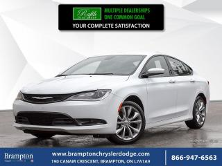 Used 2015 Chrysler 200 S | for sale in Brampton, ON