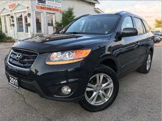 Used 2011 Hyundai Santa Fe Limited|AWD|Navi|Leather|Sunroof|Accident free for sale in Burlington, ON