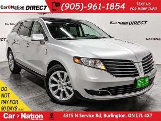 Used 2018 Lincoln MKT Elite| AWD| SUNROOF| NAVI| BLIND SPOT DETECTION for sale in Burlington, ON