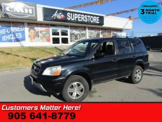 Used 2003 Honda Pilot EX-L  AS IS (UNCERTIFIED) AS TRADED IN for sale in St Catharines, ON