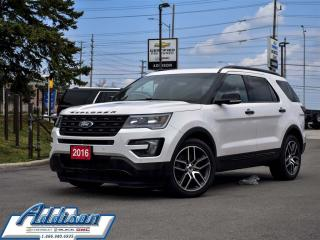 Used 2016 Ford Explorer Sport Navi Sunroof 7 Passenger for sale in Mississauga, ON