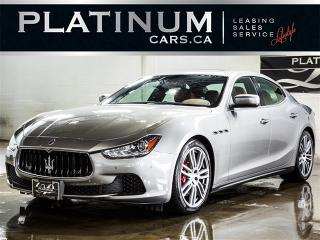 Used 2015 Maserati Ghibli S Q4 404HP AWD, NAVI, CAM, Paddle Shift for sale in Toronto, ON