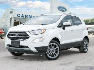 New 2018 Ford EcoSport Titanium for sale in Carman, MB