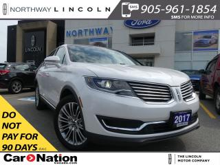 Used 2017 Lincoln MKX Reserve | NAV | LEATHER | AWD | PANO ROOF | for sale in Brantford, ON