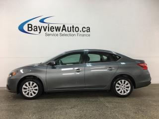 Used 2017 Nissan Sentra 1.8 S - 1.8L! AUTO! A/C! SPORT MODE! CRUISE! for sale in Belleville, ON