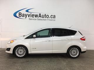 Used 2016 Ford C-MAX Hybrid SEL - REM START! PANOROOF! HTD LTHR! NAV! APA! SONY! SYNC! for sale in Belleville, ON