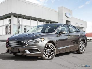New 2018 Ford Fusion SE FWD for sale in Winnipeg, MB