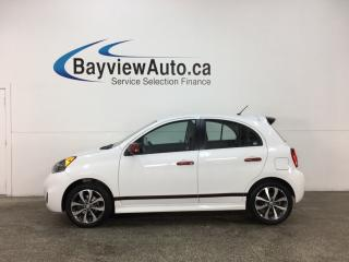 Used 2015 Nissan Micra SR - ALLOYS! A/C! REVERSE CAM! BLUETOOTH! for sale in Belleville, ON