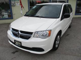 Used 2011 Dodge Grand Caravan FAMILY MOVING SE MODEL 7 PASSENGER 3.6L - V6.. CAPTAINS.. STOW-N-GO.. CD/AUX INPUT.. ECON-BOOST PACKAGE.. for sale in Bradford, ON