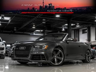 Used 2014 Audi RS5 TECHNIK|SPORT DIFF|NAVI|BLINDSPOT|B&O|CARBON|FULLY LOADED for sale in North York, ON