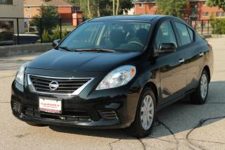 Used 2014 Nissan Versa 1.6 SV ONLY 60K   CERTIFIED for sale in Waterloo, ON