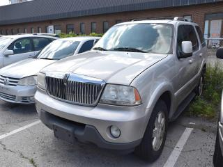 Used 2005 Lincoln Aviator Luxury for sale in Concord, ON