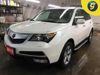 Used 2012 Acura MDX Tech Package*AWD*NAVIGATION*SUNROOF*DVD*BACK UP CAMERA*REAR ENTERTAINMENT UNIT w/WIRELESS HEAD*PHONES*BLINDSPOT ASIST*STEP BARS*7 PASSENGER*PHONE CONN for sale in Cambridge, ON