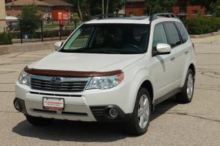 Used 2009 Subaru Forester 2.5 X Limited Package Leather | Sunroof | CERTIFIED for sale in Waterloo, ON