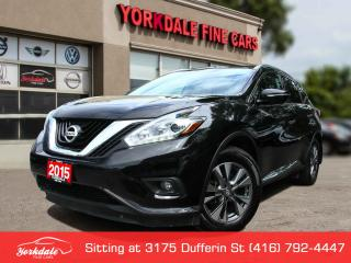 Used 2015 Nissan Murano SL Panoramic. Navigation. Leather. Camera. Clean for sale in Toronto, ON