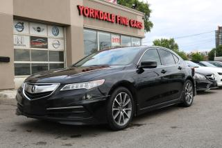 Used 2015 Acura TLX Tech V6. SH. AWD. Navigation. Blind Spot Assist for sale in Toronto, ON