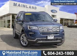 New 2018 Ford Explorer LIMITED for sale in Surrey, BC