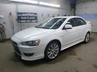 Used 2008 Mitsubishi Lancer SE for sale in St-Raymond, QC
