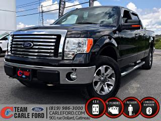 Used 2011 Ford F-150 Ford F-150 XLT 2011, Bluetooth, régulate for sale in Gatineau, QC