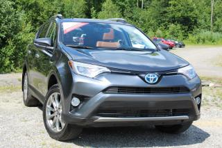 Used 2016 Toyota RAV4 Hybride Limited 4 portes for sale in Shawinigan, QC