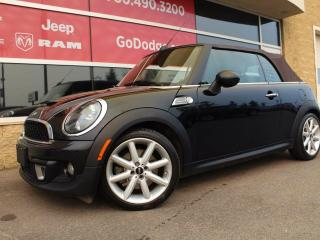Used 2014 MINI Cooper CONVERTIBLE S / Heated Front Seats for sale in Edmonton, AB