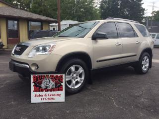Used 2010 GMC Acadia SLE1 for sale in Glencoe, ON