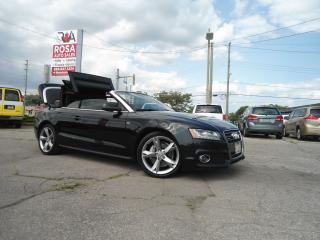 Used 2012 Audi A5 AUTO Premium PLUS NAV BLUETOOTH BACKUP NO ACCIDEN for sale in Oakville, ON