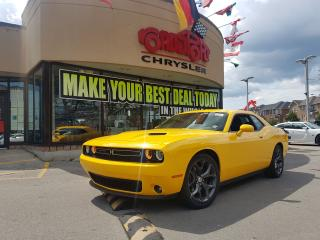 Used 2018 Dodge Challenger SXT Plus NAVI COOLED SEATS REAR CAM AUTO START for sale in Toronto, ON