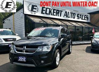 Used 2012 Dodge Journey SXT WITH 3RD ROW SEAT / SUNROOF for sale in Barrie, ON