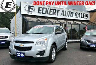 Used 2015 Chevrolet Equinox LS with Bluetooth for sale in Barrie, ON