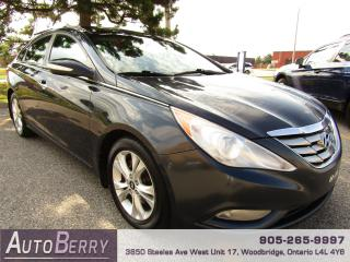 Used 2012 Hyundai Sonata Limited - NAVI - PANO ROOF for sale in Woodbridge, ON