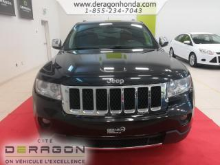 Used 2013 Jeep Grand Cherokee Overland for sale in Cowansville, QC