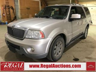 Used 2004 Lincoln Navigator 4D Utility 4WD for sale in Calgary, AB