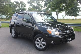 Used 2008 Toyota RAV4 LIMITED -ROOF|ALLOYS|4X4|A/C|POWER GROUP|MORE!!! for sale in Oshawa, ON