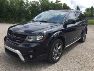 Used 2017 Dodge JOURNEY CROSSROAD * 1 OWNER * BACKUP CAM * DVD * NAV * SUNROOF * 7 PASS for sale in London, ON